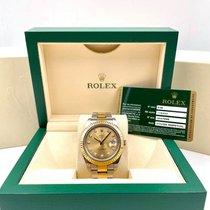 Rolex Datejust II Gold/Steel 41mm Champagne Roman numerals United States of America, New York, New York