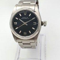 Rolex Oyster Perpetual 31 Stahl 31mm Schwarz Arabisch Österreich, Linz
