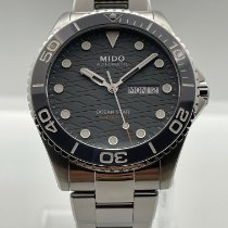 Mido Steel 42.5mm Automatic M042.430.11.081.00 new