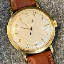 Vacheron Constantin Yellow gold Manual winding Silver Arabic numerals 38mm pre-owned