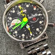 Alain Silberstein Steel 38mm Automatic 7751 pre-owned United States of America, New York, new york