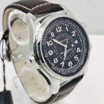 Hamilton Khaki Navy UTC Steel 42mm Black Arabic numerals