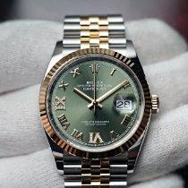 Rolex 126233 Oro/Acciaio 2021 Datejust 36mm nuovo