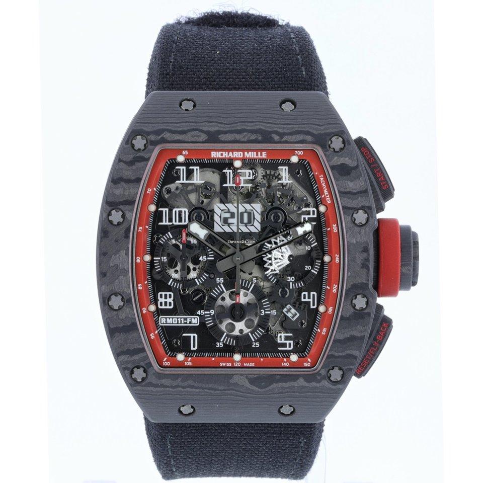 Richard Mille RM 011 RM011 AO CA 2015 pre-owned
