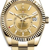 Rolex 326938 Yellow gold 2021 Sky-Dweller 42mm new United States of America, California, Los Angeles
