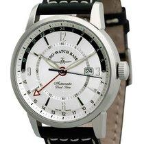 Zeno-Watch Basel Сталь 45.2mm Автоподзавод 6069GMT-G3 новые