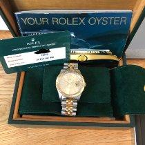Rolex Datejust Turn-O-Graph Złoto/Stal 36mm Złoty