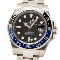 Rolex GMT-Master II Steel 40mm Red No numerals