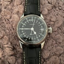 Longines Steel Automatic Black Arabic numerals pre-owned Twenty-Four Hours