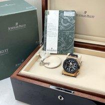 Audemars Piguet Royal Oak Offshore Tourbillon Chronograph Rose gold 44mm Black Arabic numerals