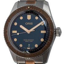 Oris Bronze Automatic Blue 40mm new Divers Sixty Five