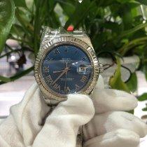 롤렉스 데이트저스트 II 스틸 41mm 파란색 로마숫자