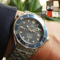 Omega Seamaster Diver 300 M Ocel 41mm Modrá Bez čísel