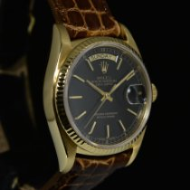 Rolex Day-Date 36 Oro giallo 36mm Nero Senza numeri Italia, Milano