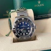 Rolex Sea-Dweller Deepsea Stahl 44mm Blau Keine Ziffern Schweiz, Lugano