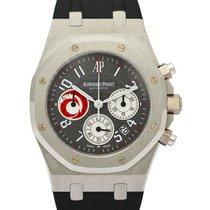 Audemars Piguet Platina Automatisch Grijs tweedehands Royal Oak Chronograph