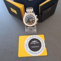 Breitling Navitimer World новые Автоподзавод Хронограф Часы с оригинальными документами и коробкой A2432212/B726/443A