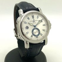 Ulysse Nardin Dual Time Steel 42mm White No numerals