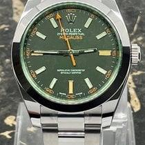 Rolex Milgauss Otel 40mm Negru Fara cifre