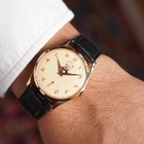 Universal Genève Rose gold Manual winding Arabic numerals pre-owned