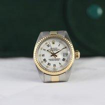 Rolex Oyster Perpetual Lady Date Or/Acier 26mm Blanc Sans chiffres France, Cannes