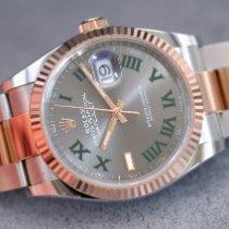 Rolex Datejust Gold/Steel 36mm Grey United Kingdom, Whitby- North Yorkshire