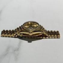 Rolex Żółte złoto Automatyczny Szampański 25mm używany Lady-Datejust