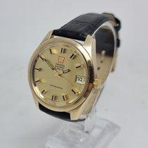 Omega 198.5001 Geelgoud 1970 Constellation 37mmmm tweedehands