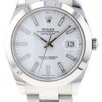 Rolex Datejust nuovo 2021 Automatico Orologio con scatola e documenti originali 126300
