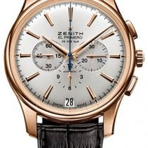 Zenith Captain Chronograph 18.2110.400/01.C498 Very good Rose gold 42mm Automatic
