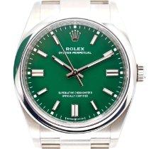 Rolex Oyster Perpetual 36 Steel 36mm Green United Kingdom, N3 2DN