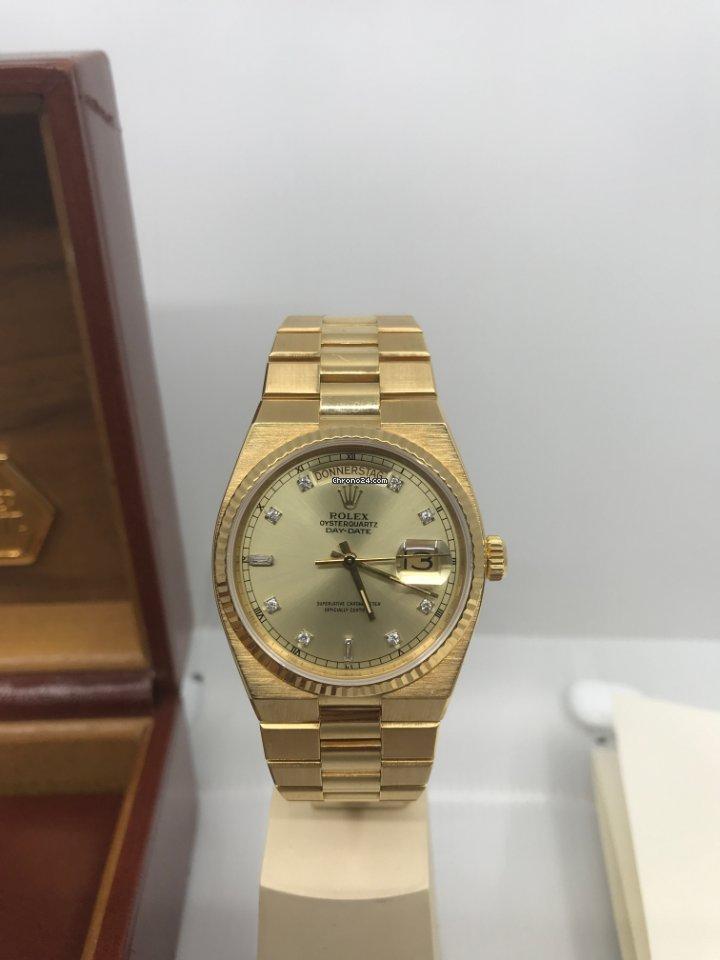 Rolex Day-Date Oysterquartz 19018 1990 gebraucht