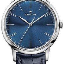 Zenith Elite 6150 Acero 42mm Azul Sin cifras