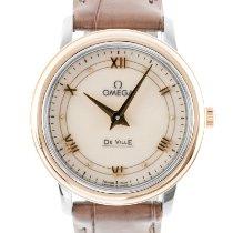 Omega De Ville Prestige new 2021 Quartz Watch with original box and original papers 424.23.27.60.09.001
