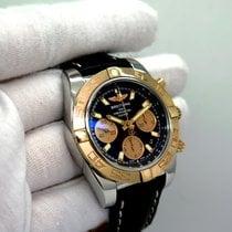 Breitling Chronomat 41 Золото/Cталь Черный