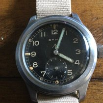 Cyma Steel 38mm Manual winding P19604 pre-owned United States of America, Kentucky, Louisville