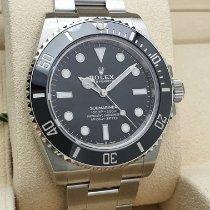 Rolex Submariner (No Date) nou 2021 Atomat Ceas cu cutie originală și documente originale 124060