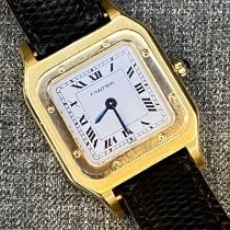 Cartier Santos Dumont Yellow gold 23mm White Roman numerals United States of America, New York, new york