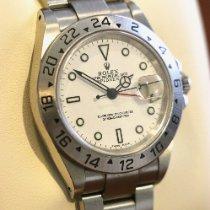 Rolex usados Automático 40mm Blanco Cristal de zafiro 10 ATM