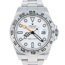 Rolex Explorer II Steel 42mm White No numerals United States of America, Massachusetts, Boston