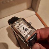 Jaeger-LeCoultre Reverso Grande Date Steel White Arabic numerals