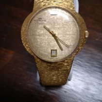 포티스 옐로우골드 자동 노란색 숫자없음 38mm 중고시계