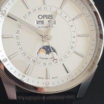 Oris Artix Complication Steel 42mm Silver Arabic numerals