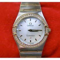 Omega 12777000 Goud/Staal Constellation Ladies 25mm