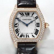Cartier Tortue Pозовое золото 34mm Cеребро Римские