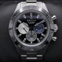Zenith 03.3100.3600/21.M3100 Staal 2021 Chronomaster Sport 41mm tweedehands