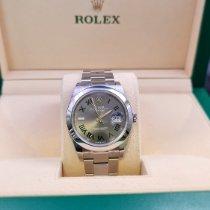 Rolex Datejust Steel 41mm Grey Roman numerals United Kingdom, Fareham