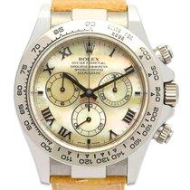 Rolex 116519 Oro bianco 2001 Daytona 40mm usato Italia, Roma