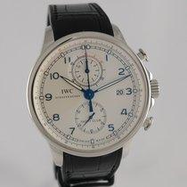 IWC Portugieser Yacht Club Chronograph Stahl 45mm Silber Arabisch Deutschland, Heilbronn
