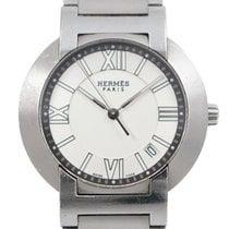 Hermès Nomade Steel 36mm White